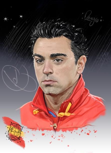 Xavi Hernandez par ramy